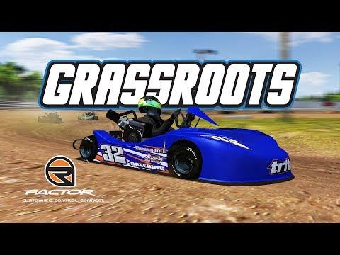 rFactor: Grassroots (Dirt Karts @ Clyde Martin Speedway)