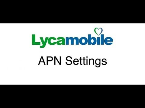 LycaMobile APN Mobile Data and MMS Internet APN Settings in 2 min on any  Android Device