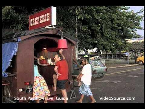 Dining  in Papeete, Tahiti, French Polynesia