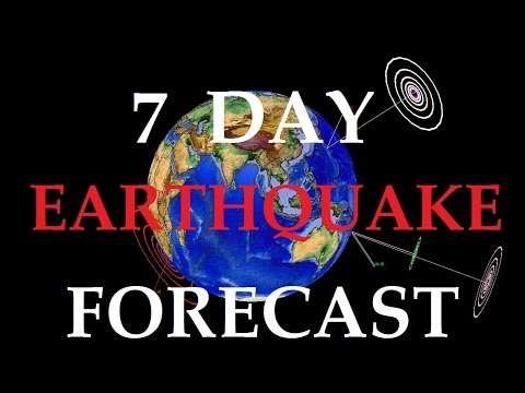 6/23/2015 -- Earthquake Overview + 7 Day Global Seismic Forecast -- New Unrest coming