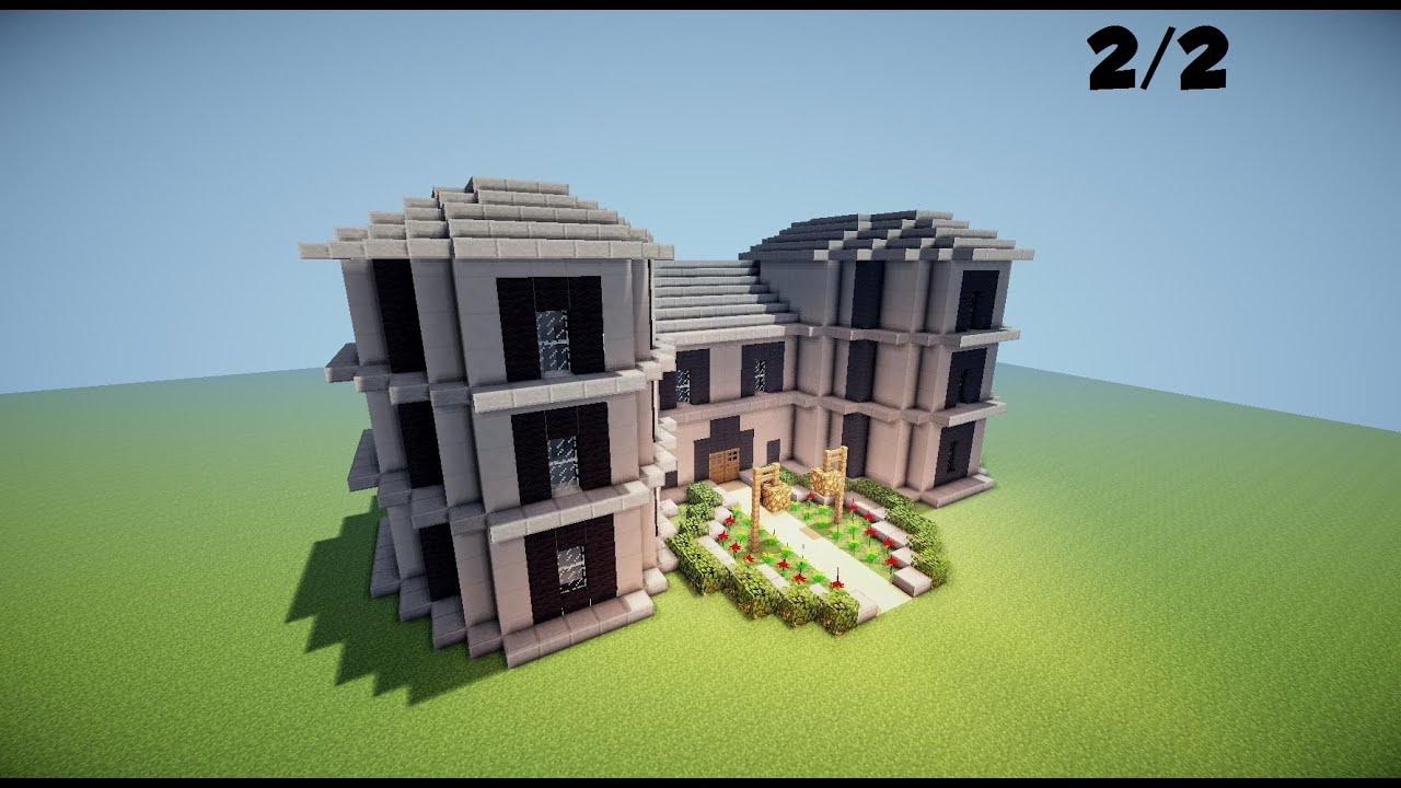 Minecraft Tuto Maison Manoir 22 By Goldendieu