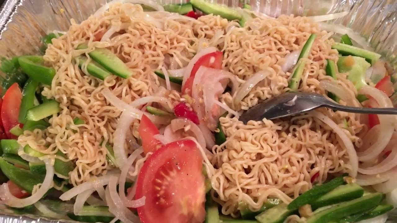 Bok me yummy noodle salad /my new discovery tasty salad ever