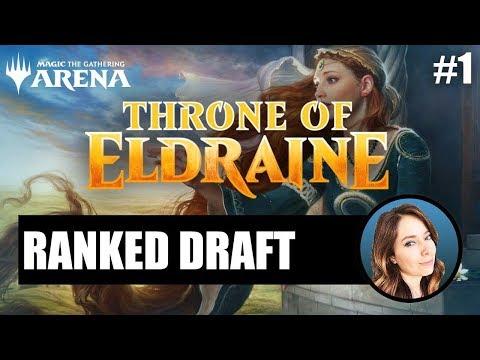 Throne Of Eldraine Draft #1 | MTG Arena
