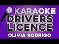 KARAOKE (drivers licence - Olivia Rodrigo)