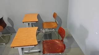 (중고가구-판매중)학원용 1인용 책상 하이팩의자 세트 …