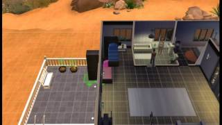 How to make a bunk bed in sims 4 (without cc)