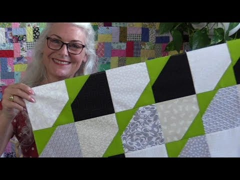 A Modern, Quick and Easy Quit Pattern