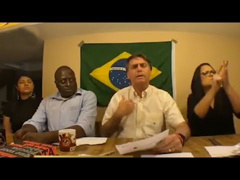 Jair Bolsonaro leads polls over Fernando Haddad in Brazil's election