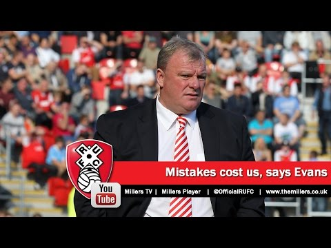 FREEVIEW: Mistakes costly against Blackpool, says Steve Evans