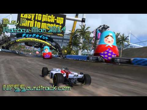 Busy P - Rainbow Man 2014 (Trackmania Turbo E3 Trailer)