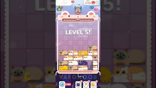 Slidey, special cat skin. Fun puzzle game. Sorry if like Tetris in reverse : )