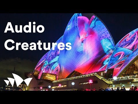 Sydney Opera House: Lighting the Sails 2017 - Audio Creatures by Ash Bolland