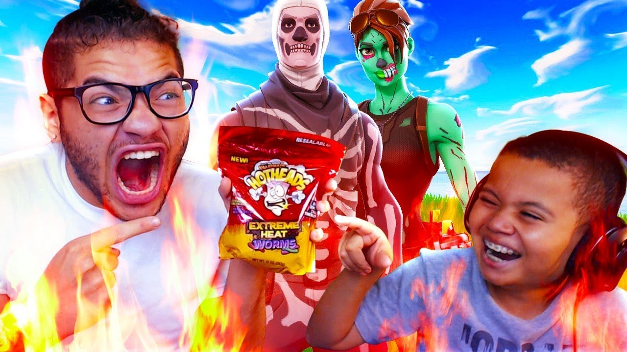 1-kill-extreme-spicy-candy-challenge-with-no-water-almost-died-10-year-old-brother-fortnite