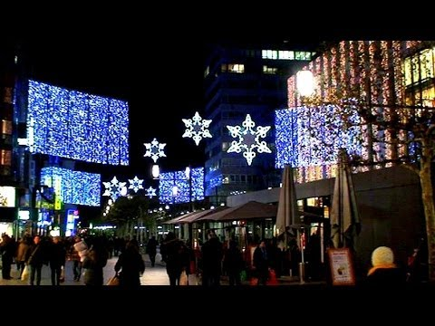 Frankfurt, Germany: A Christmas Markt Full Tour (HQ)