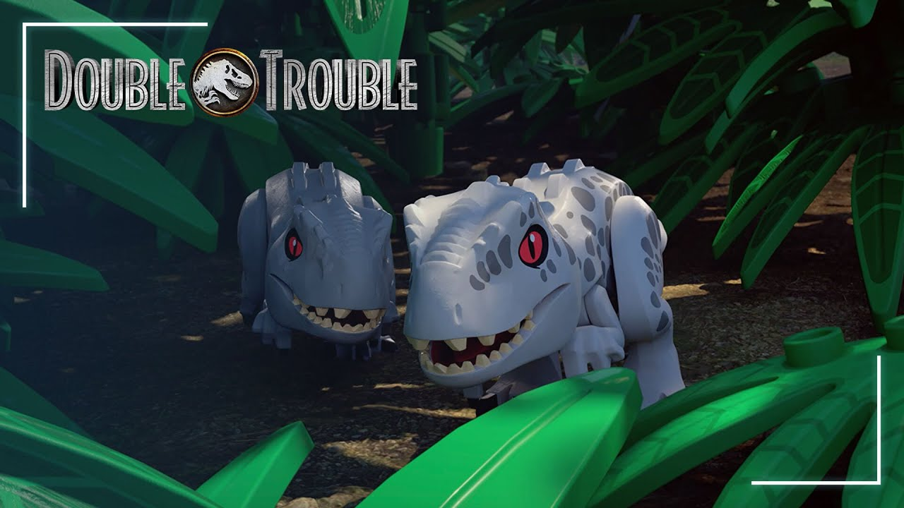 Lego Jurassic World Double Trouble Trailer 2 Youtube