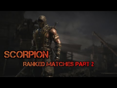 MORTAL KOMBAT X - Scorpion Online Ranked Matches #2 | DietyDevil |