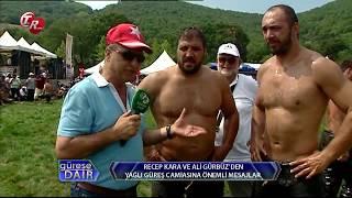 Recep Kara ve Ali Gürbüz'den Yağlı Güreş Camiasına Önemli Mesajlar