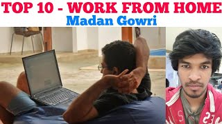 Top 10 Work From Home Jobs | Tamil | Madan Gowri