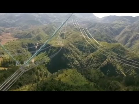 China Starts Construction of World's First 1,100kv DC Line