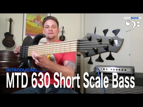 Introducing the MTD 630 Short Scale Bass!!! Just Bass It