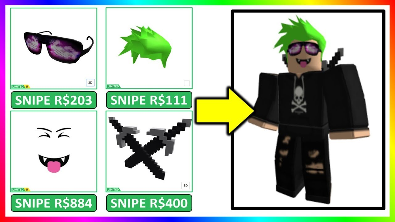 Wow Snipe Roblox Limited Items For Cheap Prices Youtube