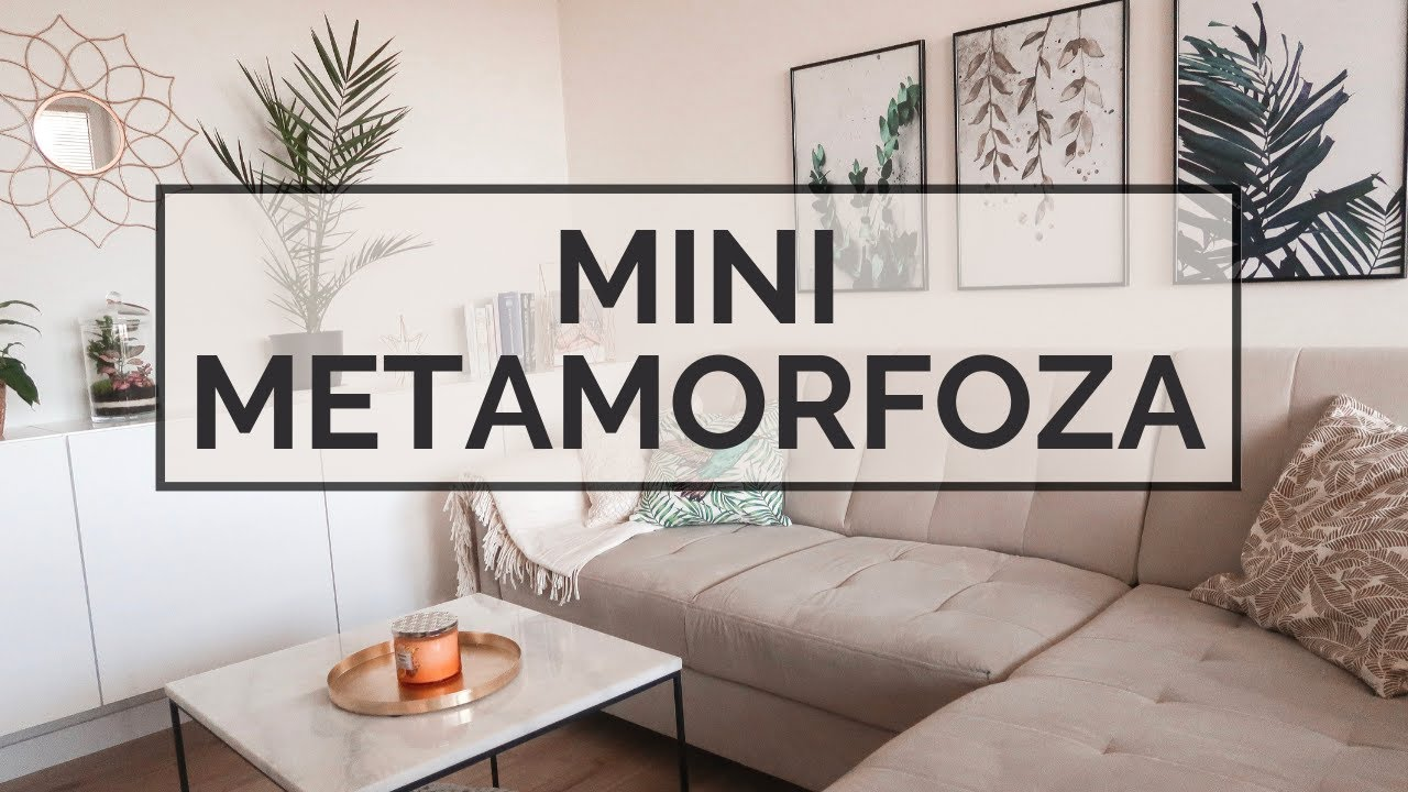 Mini Metamorfoza Salonu I Sypialni