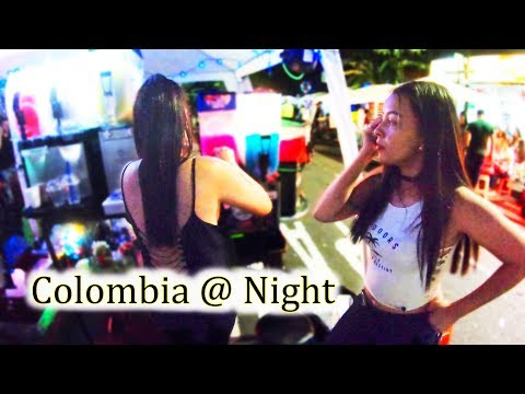 Colombia @ Night - Sabaneta Nightlife (2/2) - Medellin 2018