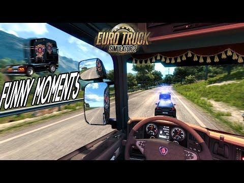Euro Truck Simulator 2 Multiplayer Funny Moments & Crash Compilation #72