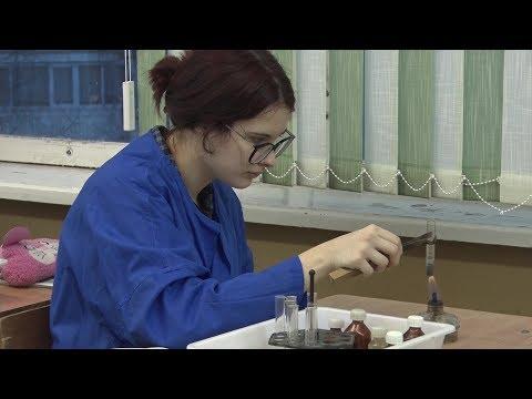 Десна-ТВ: Будущие учёные и врачи изучают химию со школьной скамьи