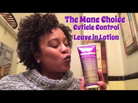 HONEST Review: The Mane Choice Ancient Egyptian Leave in Lotion I WaterBaby Kendra