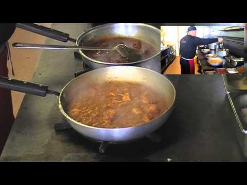 How to make a Bhuna curry at the Indian takeaway.