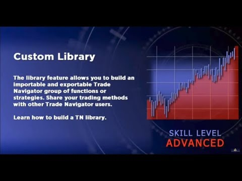 Session -2 how to build a Trade Navigator Custom Library [Professional Trading]