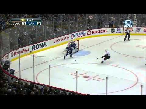 Canucks vs Ducks Highlights 1/19/13