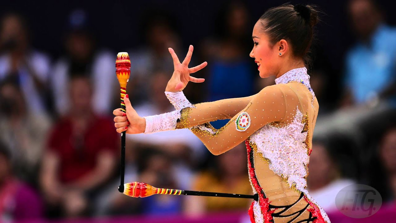 slideshow : rhythmic gymnastics at london olympics - we are