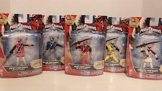 5 Inch Ninja Steel Action Hero Rangers Review [Power Rangers Ninja Steel]