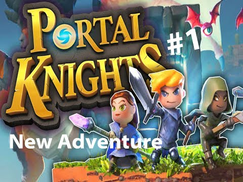 Portal Knights (Warrior) - MY NEW FAVOURITE GAME [1] |