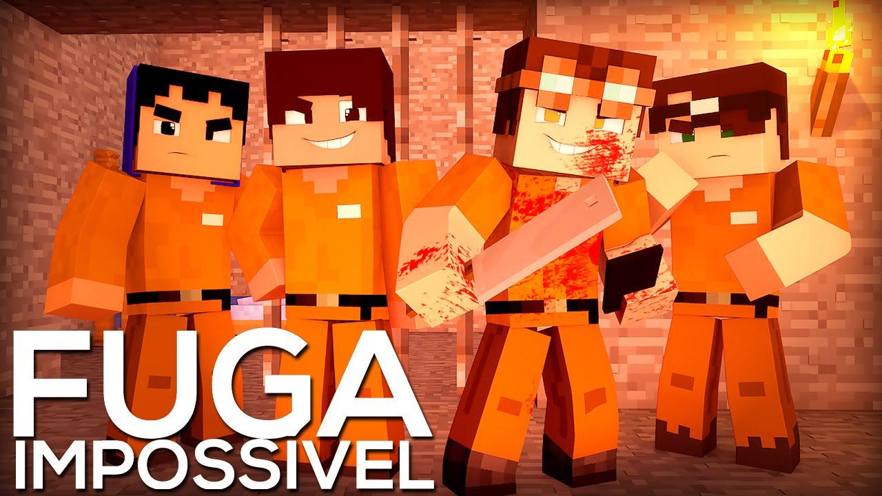 Minecraft: FUGA IMPOSSÍVEL - O FILME - YouTube