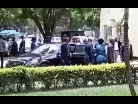 President ED Mnangagwa Motorcade on Christsmas Day,Zimbabwe Latest News Today