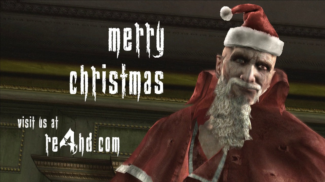 Resident Evil 4 Hd Project Team Merry Christmas Youtube