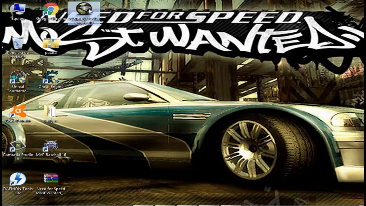 Como descargar e instalar need for speed most wanted en Nfs most wanted para pc