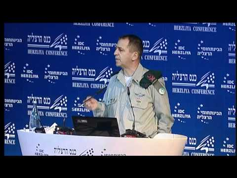 Maj. Gen. Aviv Kochavi, Speaking at the 12th Annual Herzliya Conference [Short Version]
