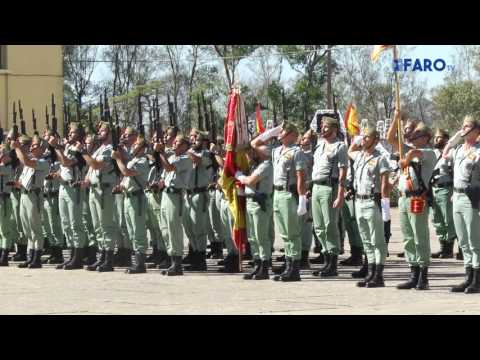 Ceuta celebra el 96 aniversario de La Legión