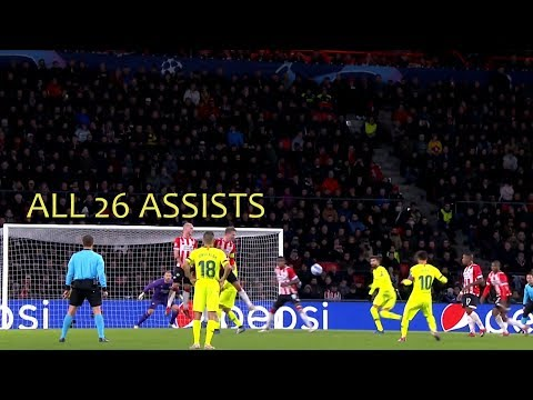 Lionel Messi ● All 26 Assists in 2018 ● With Commentaries