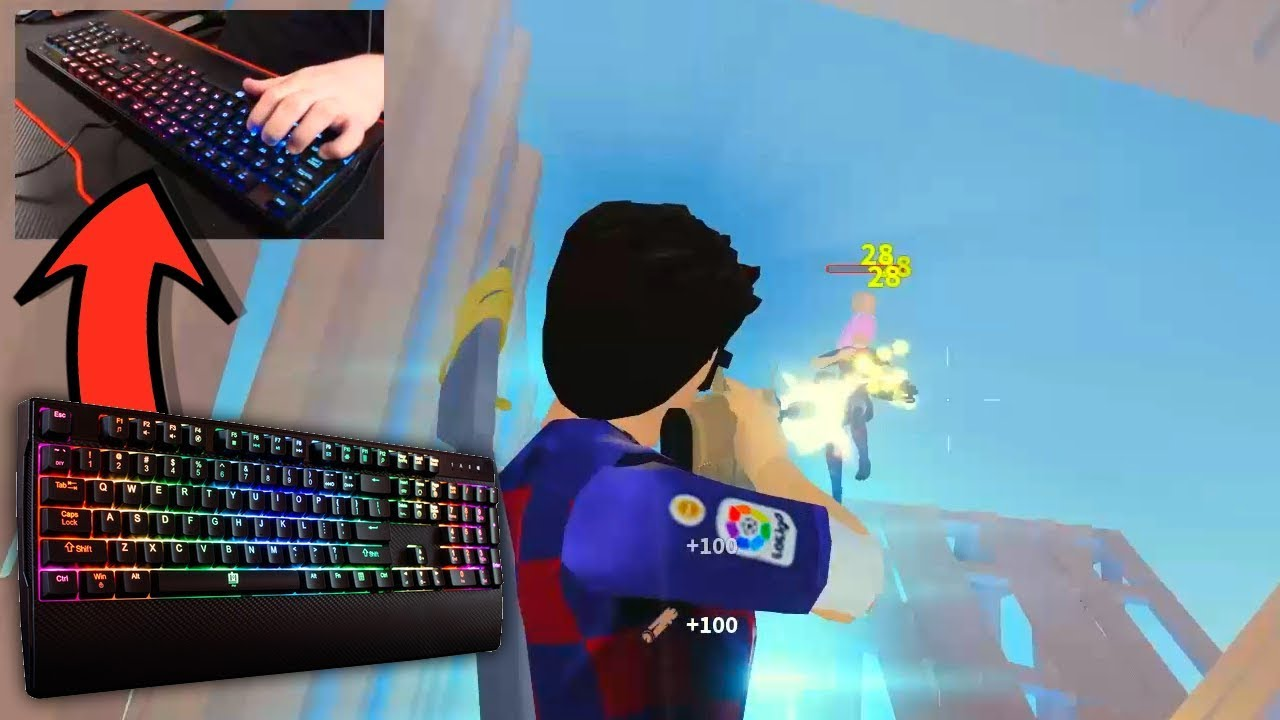 The BEST Keyboard for STRUCID! (Roblox) - YouTube