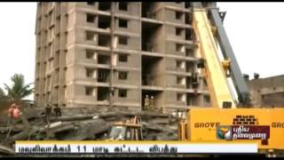 Moulivakkam Building Collapse - Construction Not As Per Plan Says Cmda