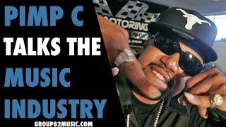 Pimp C Talks The Music Industry
