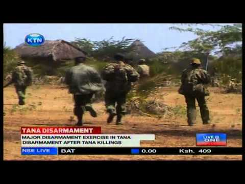 News: Police start Disarmament in the Delta