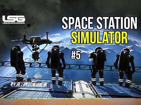 Space Engineers - Orbit - Ep 5 Space Station Simulator 2019