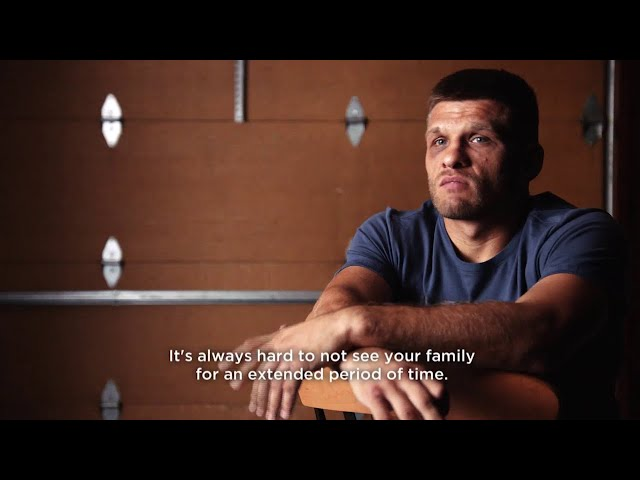Derevyanchenko on Challenges of Being Away From His Family