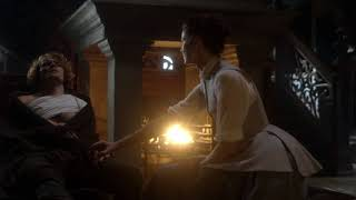 outlander s03e08 jamie explains to claire why he married laoghaire p3